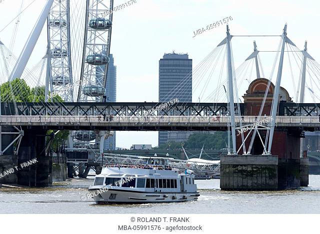 England, London, the Thames