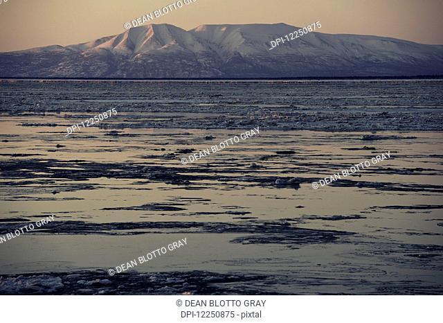 Mount Susitna, Point Woronzof Park; Anchorage, Alaska, United States of America