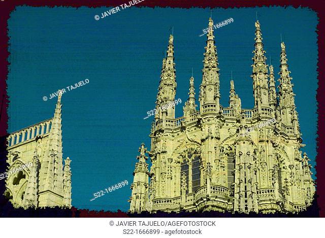 Cathedral of Burgos, Burgos, Castile-Leon, Spain