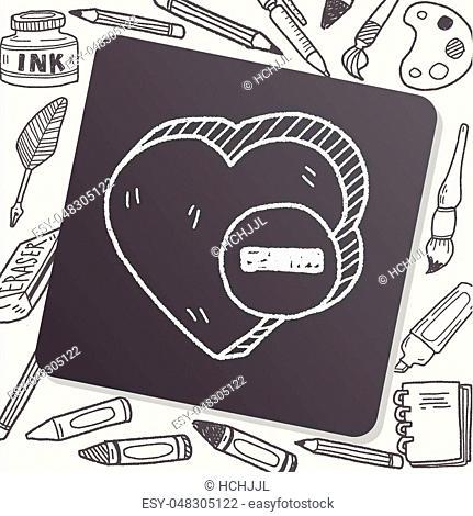 heart like doodle