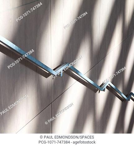 Stair Railing and Shadows