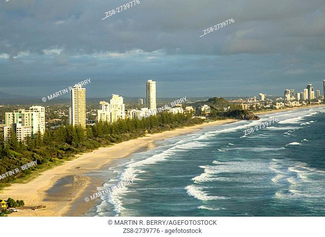 Gold Coast Coastline,Queensland,Australia