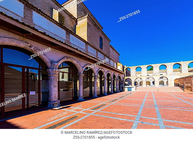 Convent and Church of the Merced. Today is the Performing Arts Center San Pedro. Olmedo, Valladolid, Castilla y León, Spain, Europe