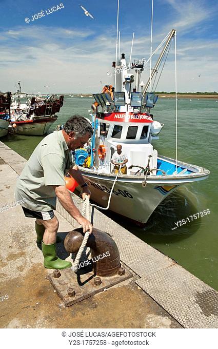 Fishing port, Punta Umbria, Huelva-province, Spain