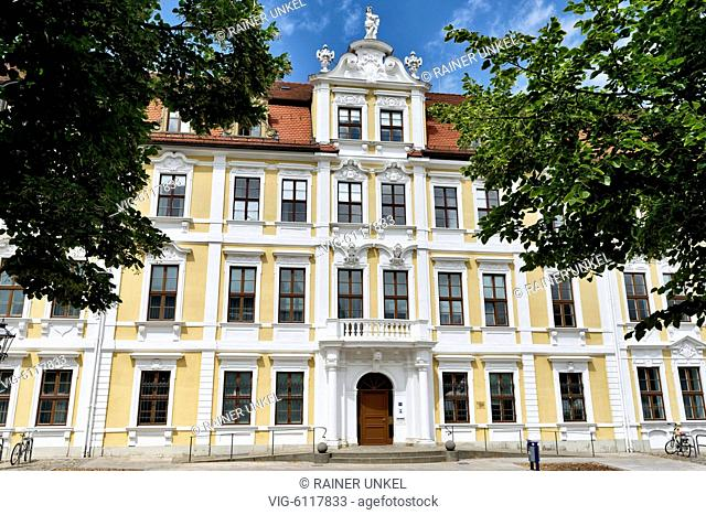 DEU , GERMANY : The parliament of Sachsen-Anhalt in Magdeburg , 06.07.2018 - Magdeburg, Sachsen-Anhalt, Germany, 06/07/2018