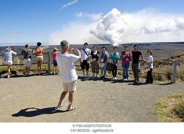 Hawaii Volcanoes National Park, Big Island, Hawaii, USA