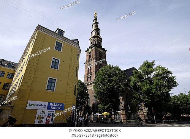 Denmark, Copenhagen, Church of our saviour
