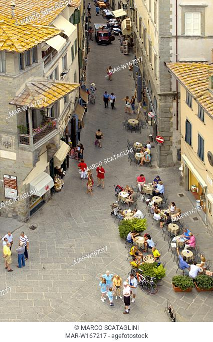 europe, italy, tuscani, cortona