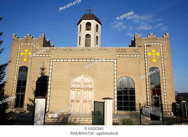 Saint Thomas's Chaldean Church, Sarcelles, Val d'Oise, France, Europe