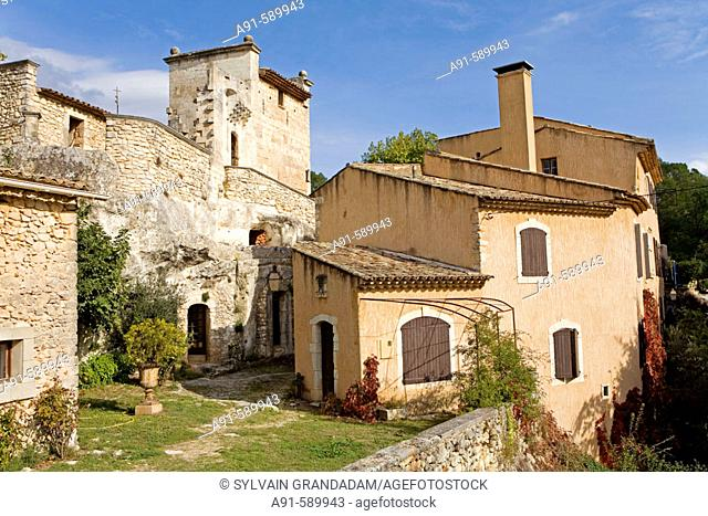 Chateau de Mille winery. Luberon. Vaucluse (84). Provence. France