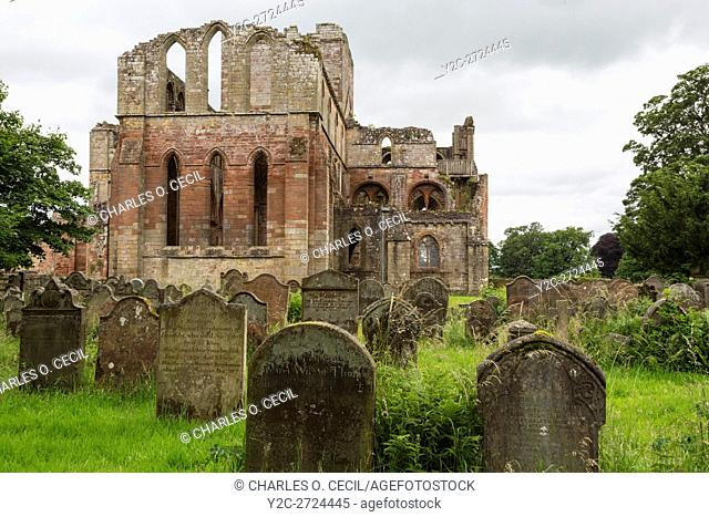 Lanercost Priory, Cumbria, England, UK. Cemetery, Anglican Church of Mary Magdalene, 13th. Century