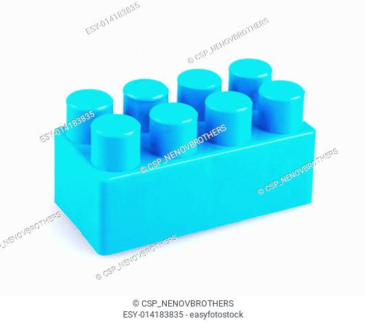 Plastic toy blocks