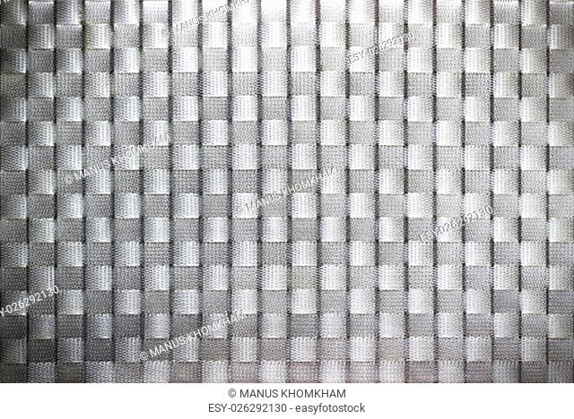 Pattern and texture of plastic weave background