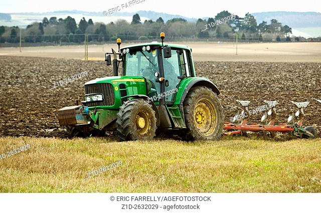 spring plowing. Angus Scotland