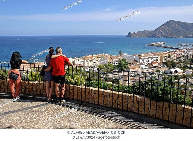 viewpoint, Altea, Alicante, Spain