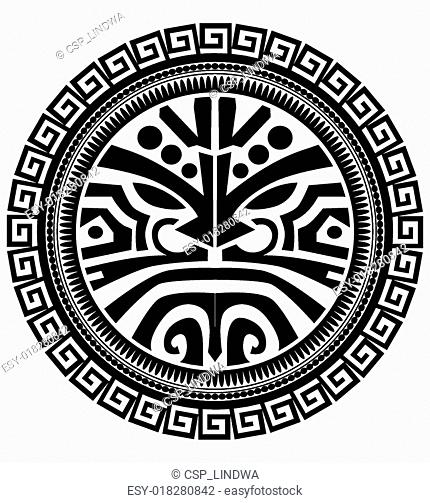 Polynesian Tattoo Stock Photos And Images