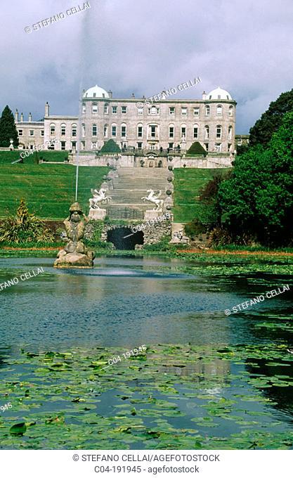 Powerscourt Gardens. Wicklow county. Ireland