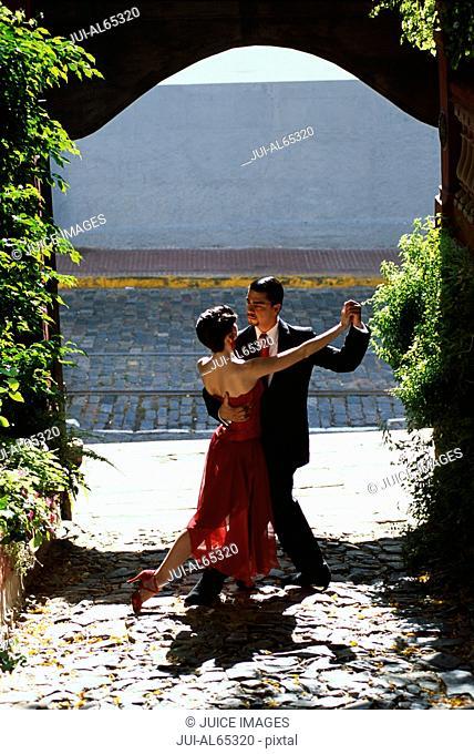 Tango dancers, San Telmo, Buenos Aires, Argentina