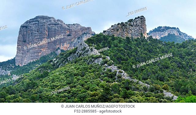 En Benet Rocks, The Ports Natural Park, Terres de l'Ebre, Tarragona, Catalunya, Spain