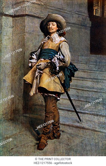 'A Cavalier: time of Louis XIII', 1861, (1912). A colour print from Famous Paintings, with an introduction by Gilbert Chesterton, Cassell and Company, (London