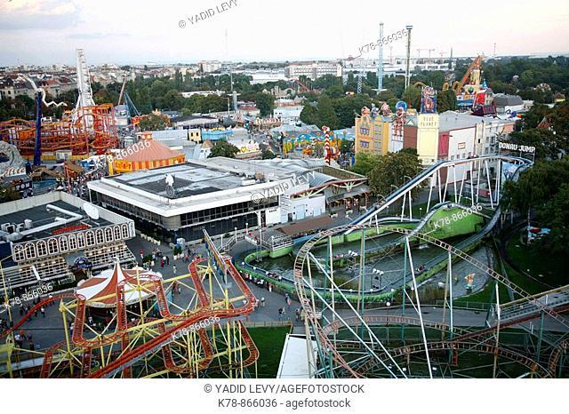 Prater Amusment park, Vienna, Austria