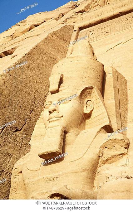Sun Temple, Rameses II, Abu Simbel, Egypt