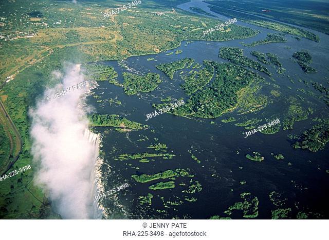 Victoria Falls Mosi-oa-Tunya, UNESCO World Heritage Site, Zimbabwe, Africa