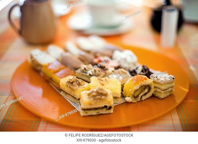 Plate with assorted sweets, Seville, Spain