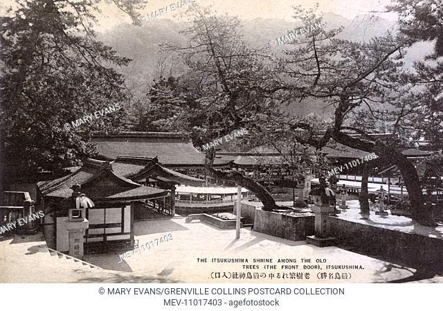 Itsukushima Shrine - a Shinto shrine on the island of Itsukushima (popularly known as Miyajima), best known for its floating torii gate