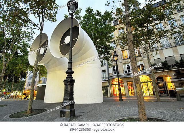 Place Georges Pompidou. Paris, France