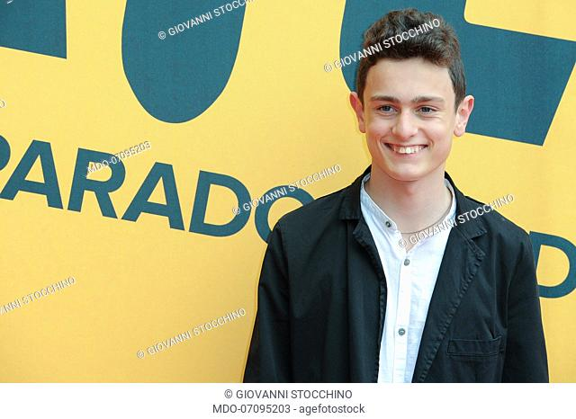 Italian actor Giovanni Stocchino attends the Sky TV series Catch-22 photocall. Rome (Italy), May 13th, 2019