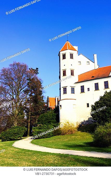 Chateau castle Telc, Czech Republic