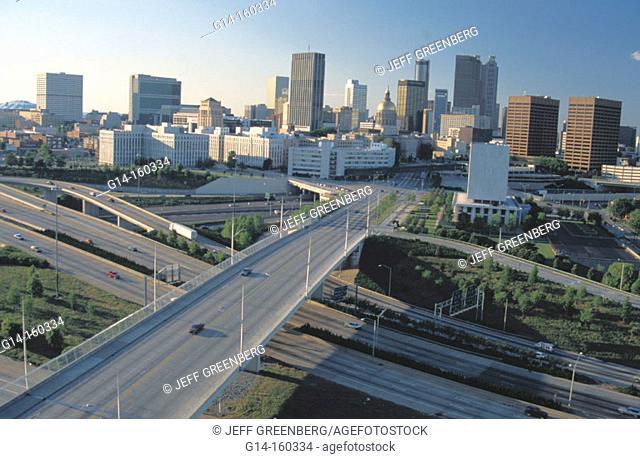 Capitol Avenue Bridge over I-20. Atlanta. USA