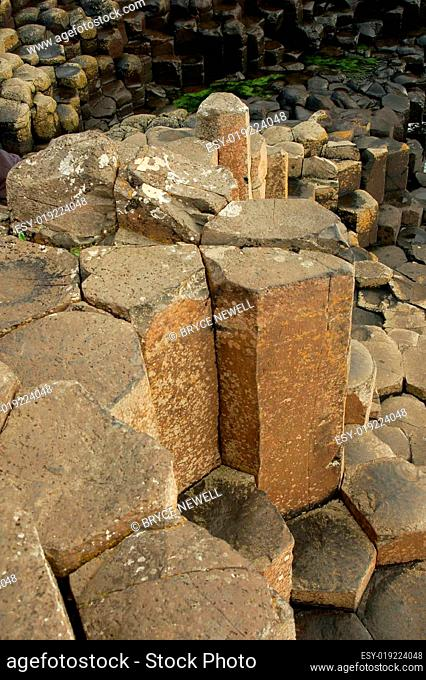 Giants Causeway in Northern Ireland UK