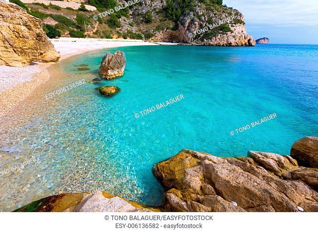 Javea La Granadella beach in Xabia Alicante Mediterranean Spain