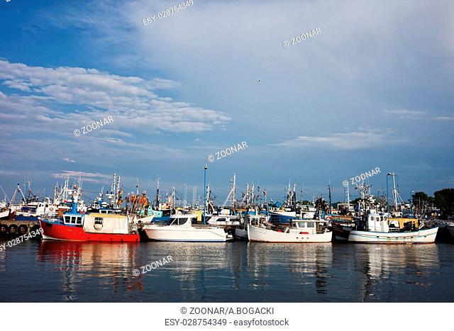 Port in Wladyslawowo Town in Poland