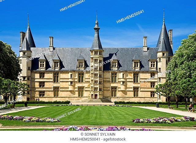 France, Nievre, Nevers, Ducal Palace