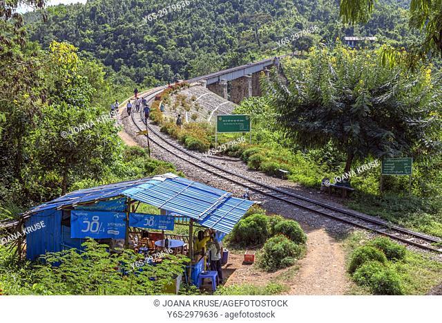 Ba Wa Sam Sa Ra Bridge, Heho, Myanmar, Asia