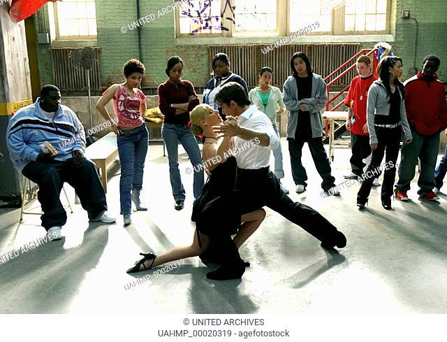 Dance!, (TAKE THE LEAD) USA 2006, Regie: Liz Friedlander, KATYA VIRSHILAS, ANTONIO BANDERAS, Key: Tanzpaar, Tanzen, Zuschauer, Jugendliche, Verleih: Warner Bros