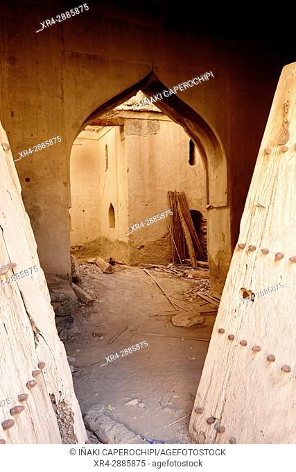 Ancient architecture. Ibra, Ash Sharqiyah, Sultanate of Oman