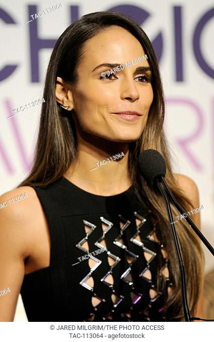 Actress Jordana Brewster attend the People's Choice Awards Nominations Press Conference at The Paley Center for Media on November 15, 2016 in Beverly Hills