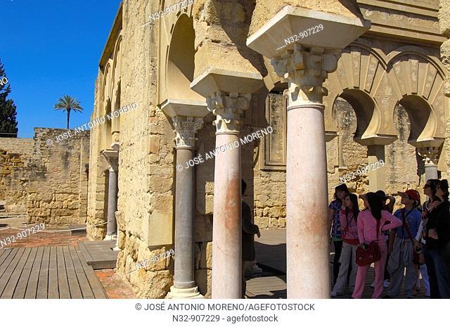 Ruins of Medina Azahara, palace built by caliph Abd al-Rahman III  Córdoba  Andalusia, Spain