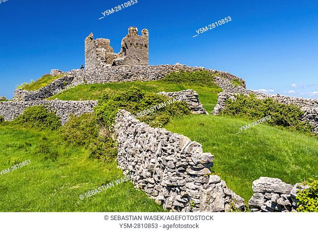 O'Brien fort at Inis Oirr, County Galway, Ireland, Europe