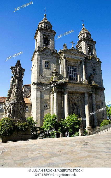 The Church of St Anthony in Santiago de Compostela Spain