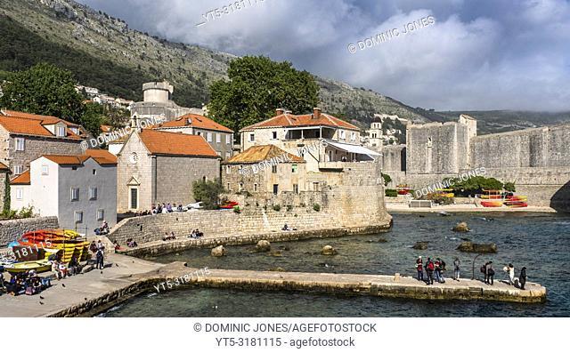 The Pile Harbour, Dubrovnik, Croatia, Europe