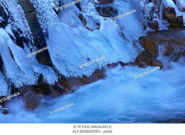 Mountain stream, Nagano Prefecture