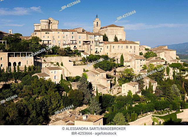 Cityscape of Gordes, Vaucluse, Provence, France