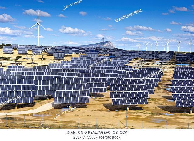 Energía solar y eólica  Bonete  Albacete