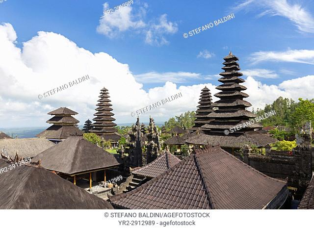 The Mother Temple of Besakih, or Pura Besakih, Bali, Indonesia