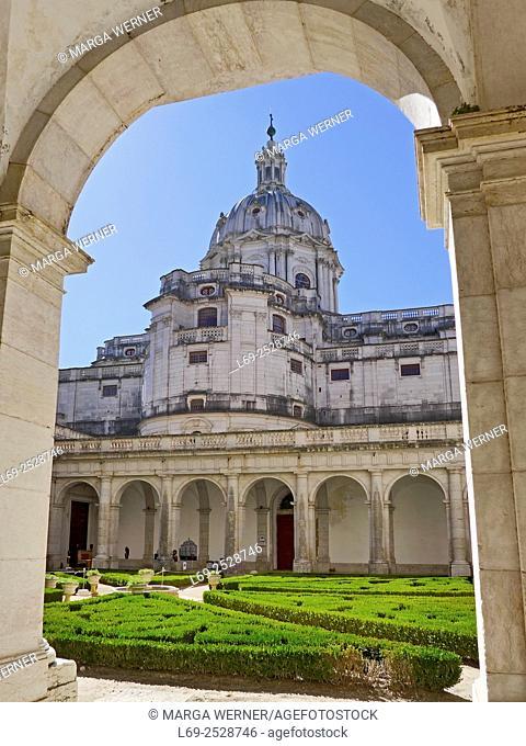Palácio Nacional de Mafra, National Palace of Mafra, Baroque and Neoclassical palace-monastery, Region Centro, District Lisbon, Portugal, Europe